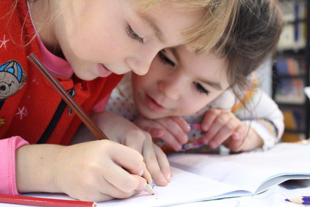 Cours d'anglais pour les 5 ans